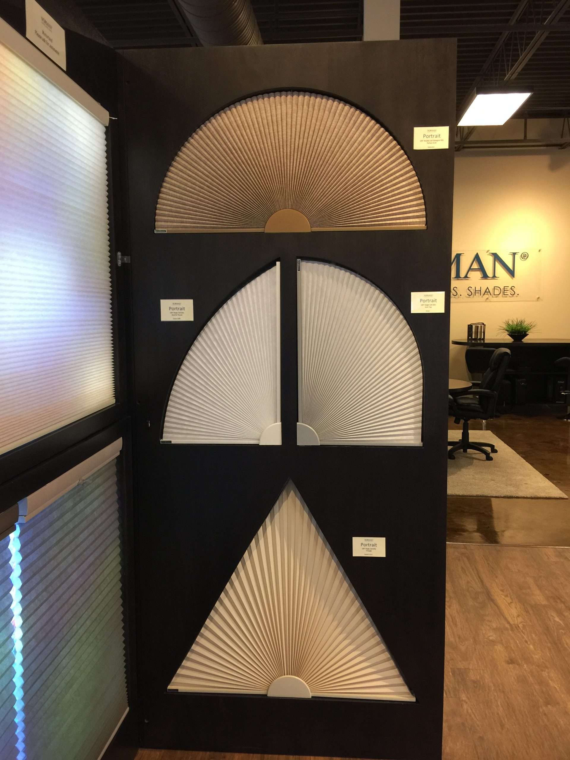 Honeycomb Shape shades