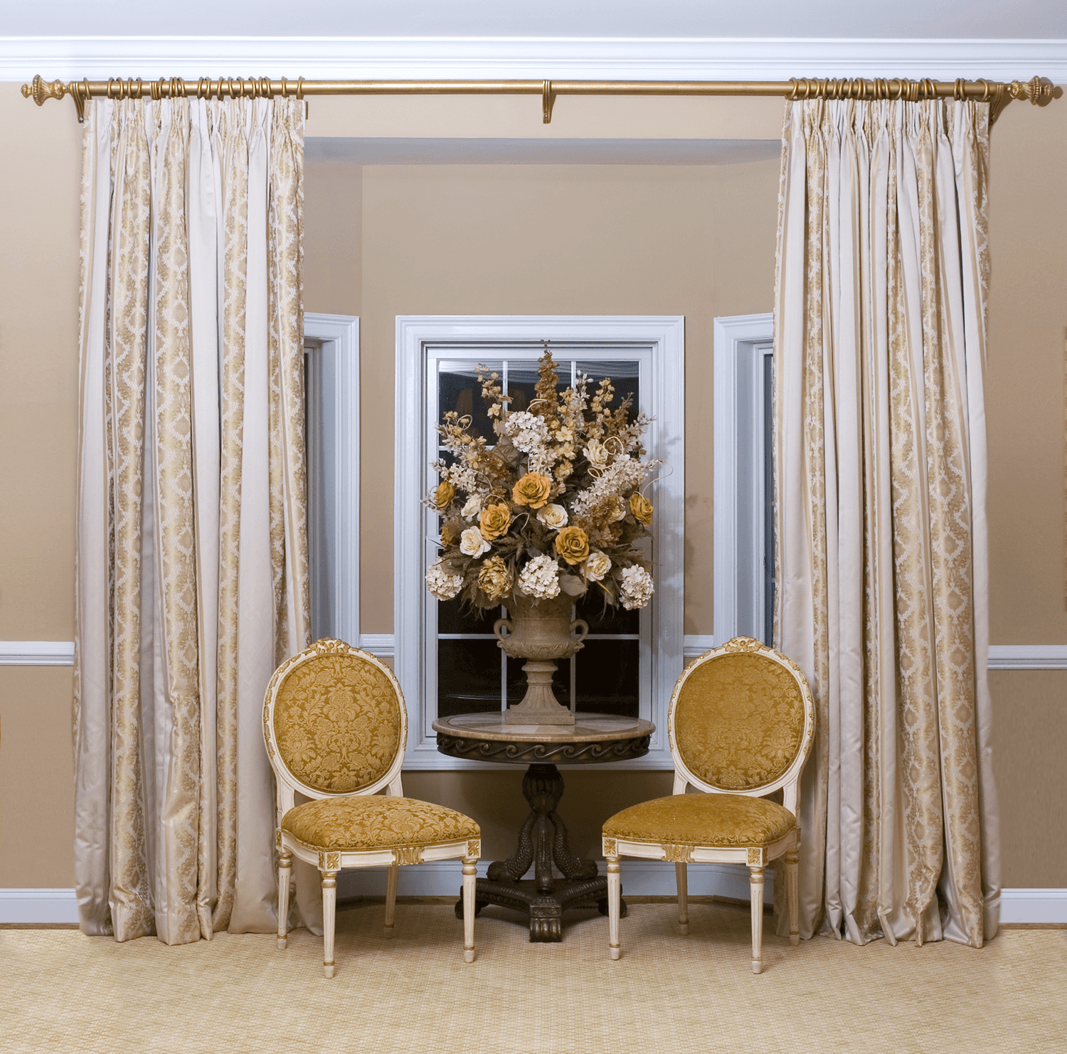 Pinch Pleated Drapes 2